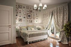 Provence style bedroom - Decor Around The World Style At Home, Provence Interior, Bedroom Decor For Small Rooms, Beige Curtains, Provence Style, Bedroom Paint Colors, House Rooms, Home Fashion, Toddler Bed