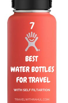 We all seek to buy a cool and classy water bottle for our journeys. So, here is the top-notch list of the best water bottles for travel with self filtration