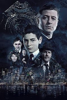 @Gotham @GothamTVWriters A poster I did for #Gotham