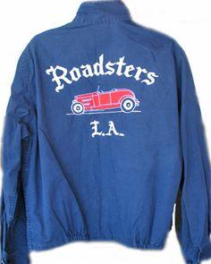 Roadsters - LA Motorcycle Wear, Club Shirts, Clothing Labels, Vintage Jacket, Tee Design, Shirt Jacket, Urban Fashion, Work Wear, Vintage Outfits
