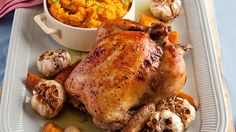 You can never go wrong with a great roast chicken recipe! Serve some fluffy…