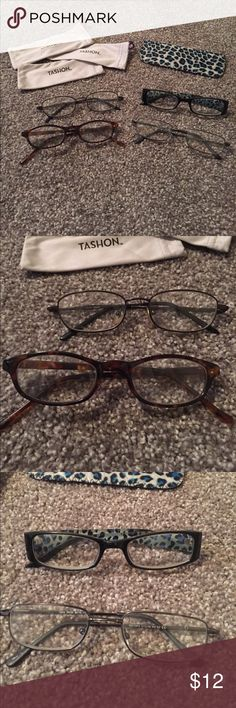 a31cb07c9a2 Bundle of Cheaters Glasses and Cases