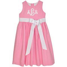 Our Rags Land Med. Pink Linen Picnic Dress! Shop Now At www.ragsland.com