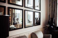 Black frame art