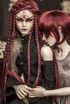 Dolls - Fairy World & Fantastic Creatures Keka Ball Jointed Dolls, Pretty Dolls, Beautiful Dolls, Ooak Dolls, Barbie Dolls, Monster High, Valley Of The Dolls, Doll Repaint, Fantasy Makeup