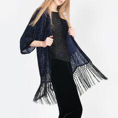 Zara kimono Brand new with tag. One size Medium. 🚫🚫🚫NO TRADE🚫🚫🚫 Zara Sweaters