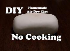DIY | Air Dry Clay (Easy Recipe!!) | Tutorial