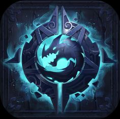 My painting, cong lee on ArtStation at… Game Concept, Concept Art, Icon Design, Design Art, Game Logo Design, Magic Symbols, Professional Logo Design, How To Make Logo, Art Icon