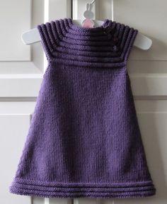 enkel strikket kjole baby - Google-søgning