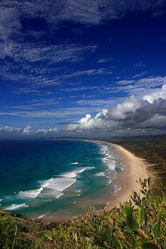 Tallow beach – Byron Bay-New south Well Australia. Tallow beach – Byron Bay-New south Well Australia. Byron Bay, Australia Travel, Queensland Australia, Western Australia, Beach Trip, Belle Photo, Beautiful Beaches, Beautiful Landscapes, Beautiful World