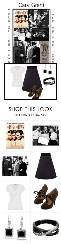 """Talk Of a The Town - Cary Grant"" by jostockton ❤ liked on Polyvore featuring Acne Studios, maurices, Kobelli and Tasaki"