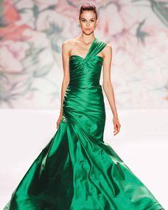 Emerald green wedding gown | Emerald green wedding dress | Emerald green ball gown | Emerald green ball dress