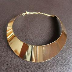 Crescent Shape Shining Necklace