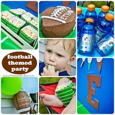 Taste{Full}: Team E: Football Themed Birthday Party {Sneak Peek}.