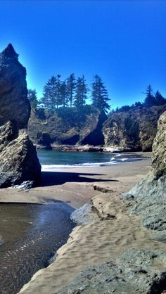 Secret beach~Brookings Oregon