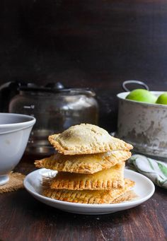 Apple Cinnamon Homemade Pop Tarts made with a grain free almond flour dough and naturally sweetened | grain free & refined sugar free