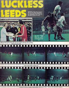 28th May 1975. Leeds United robbed of their glory in the European Cup Final, against Bayern Munich, in Paris.