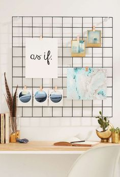 Wire Wall Grid - Trendslove