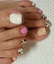Cute Summer Toes - Pedicure Nail Art Designs