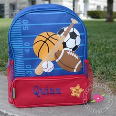 c58ed0db8bf4 Calling all sports fans! Check out this awesome sports backpack. The ...