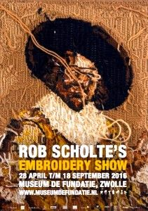 Zwolle: 'Embroidery Show' & Rob Scholte