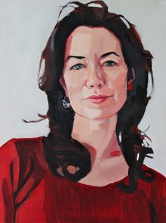 Sarah. Oil on birch panel. 2011. By Erin Fitzpatrick
