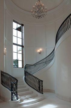 Beautiful Parisian staircase