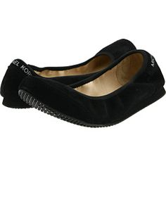 MK City Flat by MICHAEL Michael Kors  Always need a cute pair of flats to keep at the office!!!!