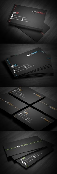 Line Corporate Business Card by glenngoh.deviantart.com on @deviantART