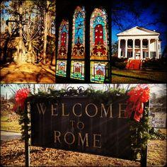 #Rome, #Georgia.