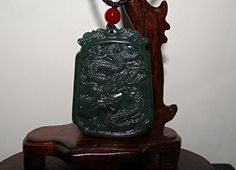 """1.9""""China Certified Nature Nephrite Hetian Jade Hollow Carved Dragon Necklace, http://www.amazon.com/dp/B01HMRWMLS/ref=cm_sw_r_pi_n_awdm_eL4DxbWC4JW4V"""