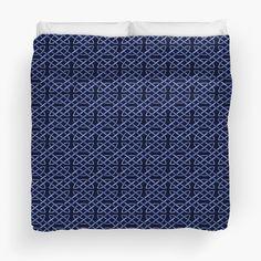 Blue Celtic Knots Pattern