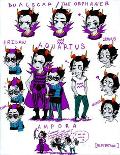 Aquarius Family by  IvetteLC98