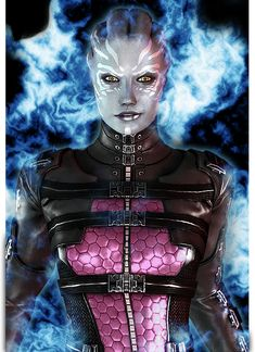 I'm not a huge fan of asari generally, but every now and then there's a total badass. Like Aria, and this Asari Vanguard.
