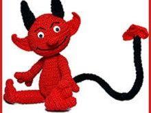 Teufel Devil PDF Häkelanleitung Amigurumi pattern