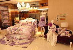 king bedding set reactive printing comforter sheets set BRAND NEW