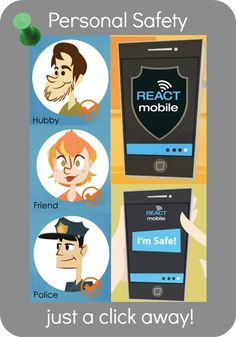 Personal Safety App from React Mobile #app #review