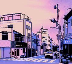 Pixel city . . . . .