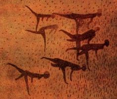 Cave painting, Hoggar Mountains