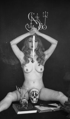 """""""(Satanic Mojo)"""" Promo shot, 1972. From the Schleyer Archive in Brooklyn, NYC."""