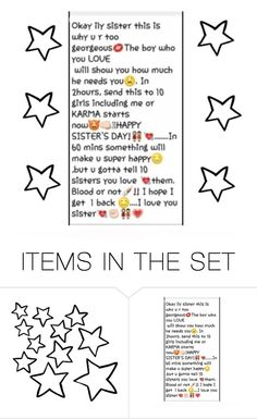 """""""♡ Tag! ♡"""" by little-rey-of-sunshine ❤ liked on Polyvore featuring art"""