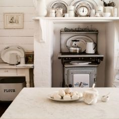 Go inside a beautiful rustic, vintage, french kitchen!