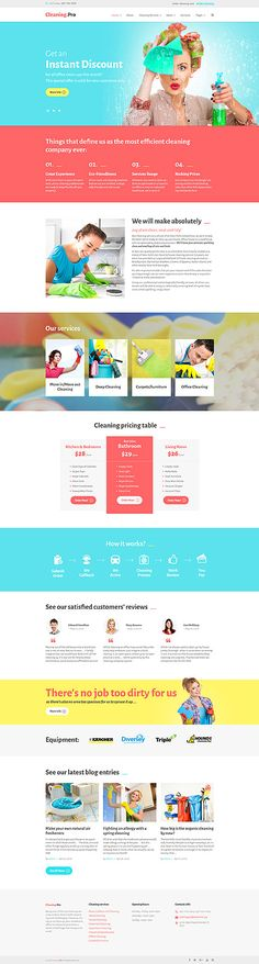 Pro Cleaning Services #Wordpress #template. #themes #business #responsive #Wordpressthemes