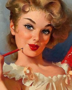 Illustration original by Gil Elvgren