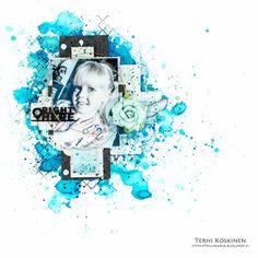 Terhi Koskinen: Guest Designer for Artists Live Ustream Show | Part 4 | Mixed Media Layout