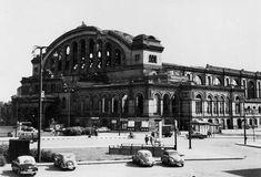 Der Anhalter Bahnhof ca 1950