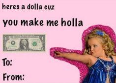Honey Boo Boo Valentine