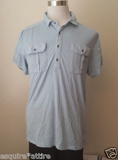 men casual shirts for sale : DKNY men size L blue #cotton short sleeve stylish shirt POLO shirt NWT withing our EBAY store at  http://stores.ebay.com/esquirestore