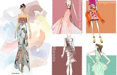Модные цвета Весна — Лето 2015. Обзор оттенков