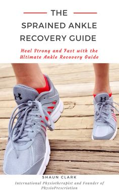 THE Sprained Ankle Recovery Guide No more Physio, no more ankle sprains with effective rehab that you can do anywhere to heal strong and fast FREE eBook until Best Running Gear, Best Running Shorts, Running Tips, Shoulder Mobility Exercises, Ankle Strengthening Exercises, Sprained Ankle Exercises, Ankle Rehab Exercises, Elbow Exercises, Stretches